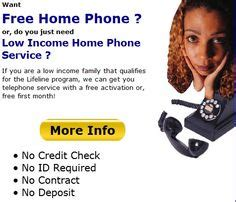 free phone with contract no credit check cheap home phone service and with no credit check