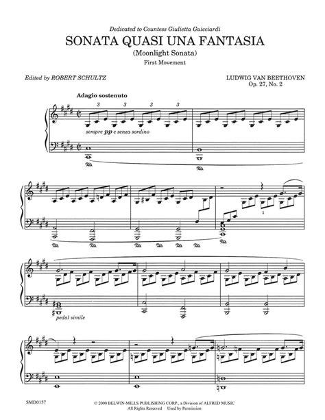 Moon Light Sonata by Moonlight Sonata Schultz Publications