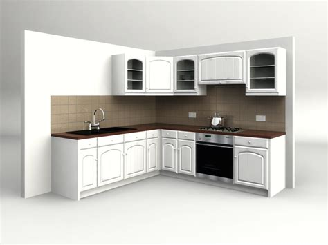kitchen design 3d model country kitchen 3d model 4381