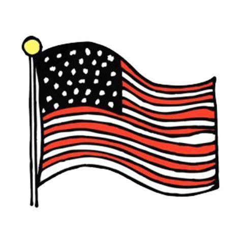 Free Waving American Flag Drawing, Download Free Clip Art ...