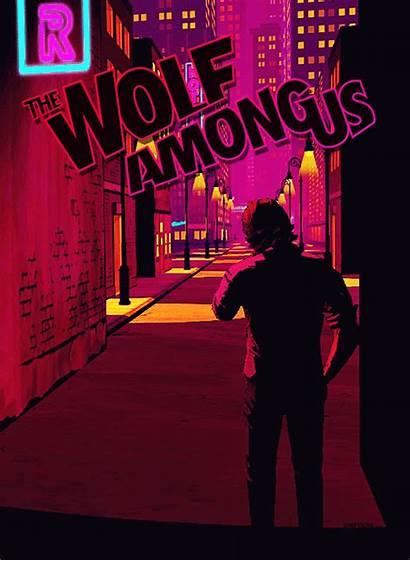 Among Wolf Anime Bad Neon Fables Comic