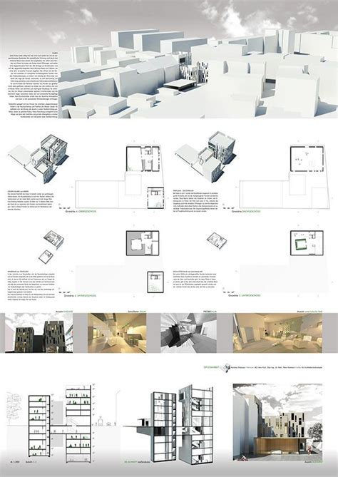 Presentation of the Diploma Project BiKuM on three A0