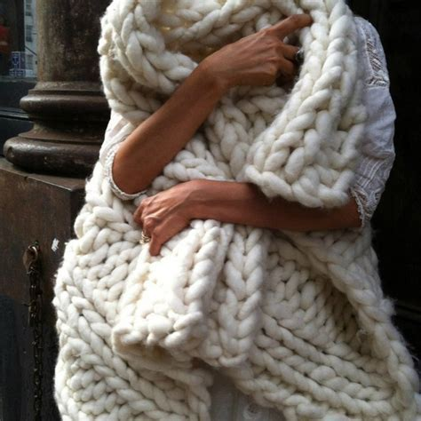 Chunky Knit Throw Blanket   A Cottage in the City