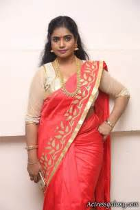 engagement sarees jayavani stills in saree at intlo deyyam nakem