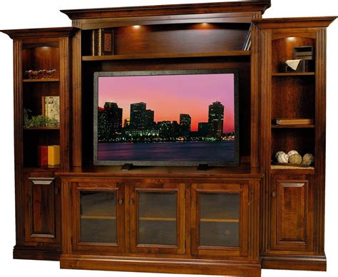 solid wood armoires wardrobes amish berlin tv entertainment center surrey rustic