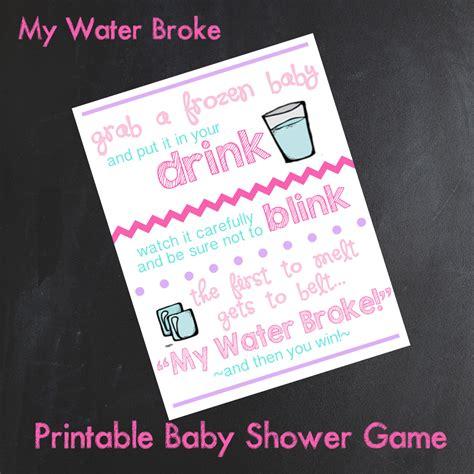 my water baby shower my water baby shower