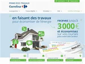 Prime éco énergie Auchan : carrefour lance son tour la prime eco ~ Dode.kayakingforconservation.com Idées de Décoration
