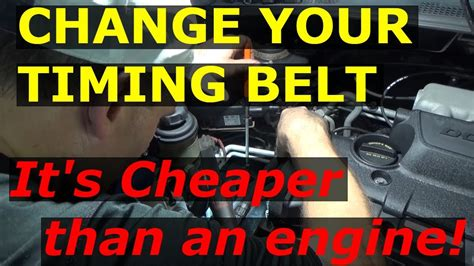 timing belt replacement kia sportage