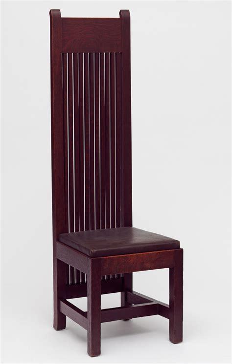 u s arts and crafts dining chair 1902 designer frank
