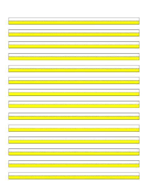 highlighter paper yellow  lines