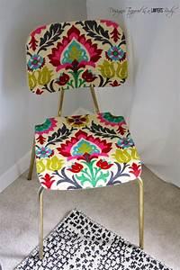Tapisser Une Chaise : diy relooker chaise vernis colle deco pinterest relooker collant et vernis ~ Melissatoandfro.com Idées de Décoration