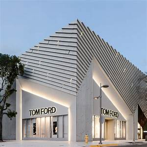 ArandaLasch creates pleated concrete facade for Tom Ford ...