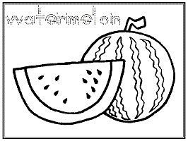 fruits coloring pages  printable activities