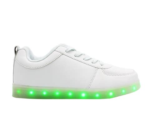 kids sneakers with lights galaxy led shoes light up usb charging low top kids