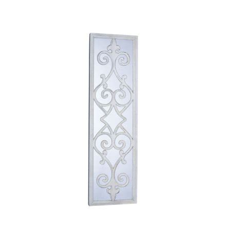 rectangular wall mirrors decorative rectangular framed decorative scroll wall mirror walmart