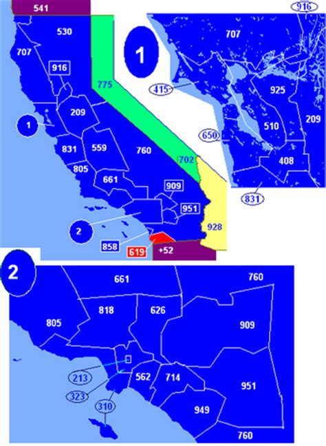 Area Code 619 Information