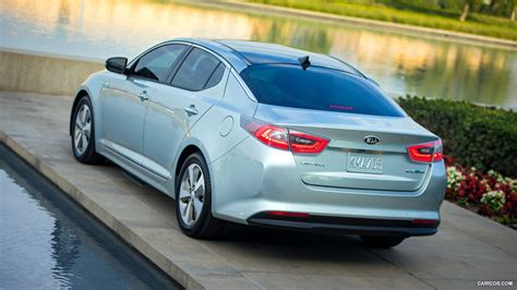 2014 Kia Optima Sxl Turbo Specs by 2014 Kia Optima Hybrid Rear Hd Wallpaper 10 1920x1080