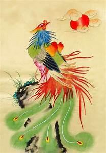 Chinese Phoenix Painting phoenix 2336115, 30cm x 40cm(12 ...