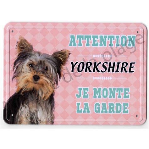 pancarte m 233 tal attention au chien