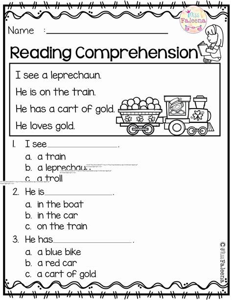 It includes several tasks on reading comprehension, vocabulary, grammar and wri. 9th Grade Reading Comprehension Worksheets