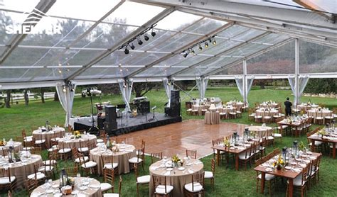 outdoor wedding venue with luxury decoration wedding tent house