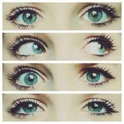 Pretty Blue Green Eyes