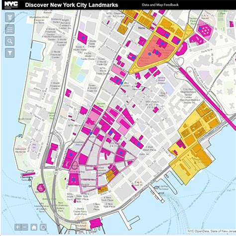 nyc maps city   york