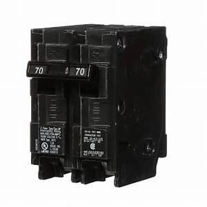 Siemens 70 Amp Double
