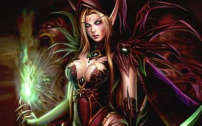 Warcraft Female Characters Valeera Sanguinar Fantasy Fighter