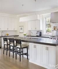 pictures of white kitchens Two Classic White Kitchens To Copy - Maria Killam - The True Colour Expert