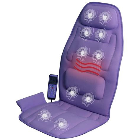 comfort products 10 motor massage cushion with heat