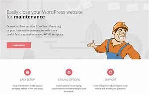 best maintenance mode plugins for wordpress With maintenance mode html template