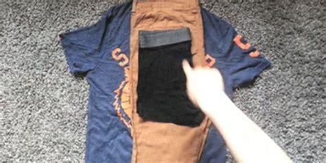 vid 201 o une astuce g 233 niale pour ranger ses habits d une journ 233 e dans une paire de chaussettes