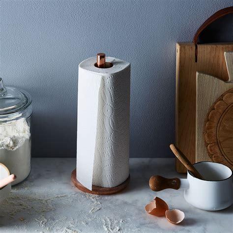 Marble & Metal Paper Towel Holder on Food52