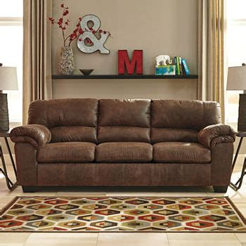 jcpenney leather sofa sofas pull out sofas couches sofa beds 2047