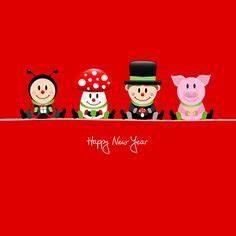 Lustige Neujahrswünsche 2017 : frohes neues jahr von prost neujahr pinterest silvester und neujahrsw nsche ~ Frokenaadalensverden.com Haus und Dekorationen