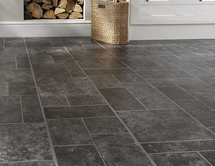 kitchen laminate flooring tile effect professional random effect slate laminate tiles howdens 8316
