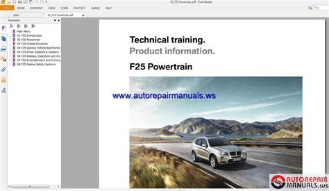 small engine repair training 2012 bmw 7 series engine control bmw x3 f25 technical training auto repair manual forum heavy equipment forums download