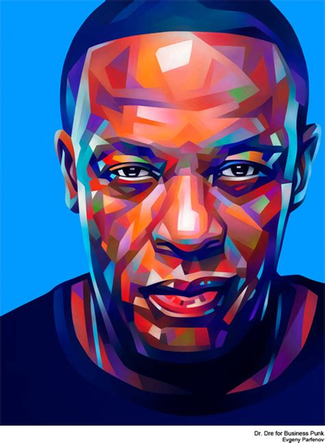 New Amazing Portrait Illustrations By Evgeny Parfenov