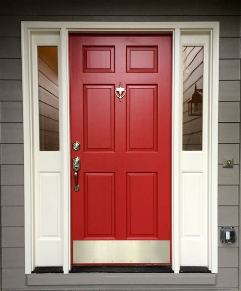 paint color for red door red front door sherwin williams antique red for the