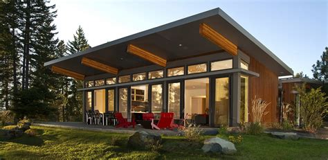 modern prefab homes  stillwater dwellings contemporary