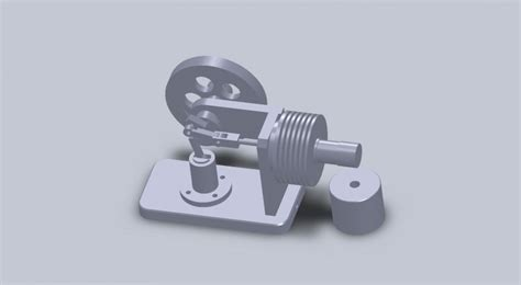 Stirling engine 3d models to print yeggi