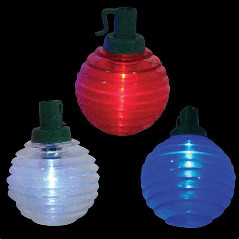 battery operated globe lights brite star battery operated 10 light patriotic shimmer