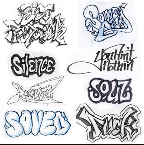 drawn word graffiti art pencil   color drawn word