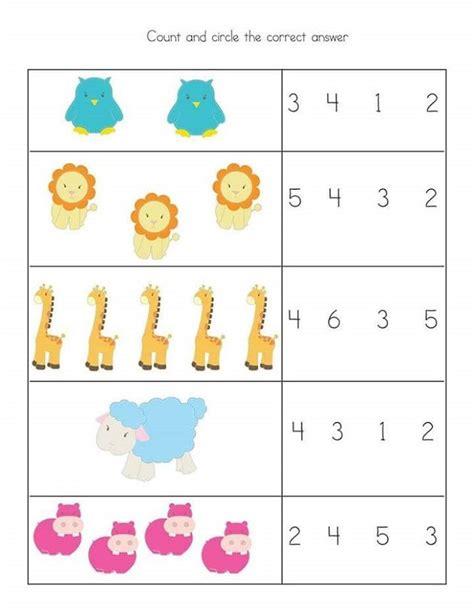 toddler worksheets fun math learning printable math worksheets kindergarten math
