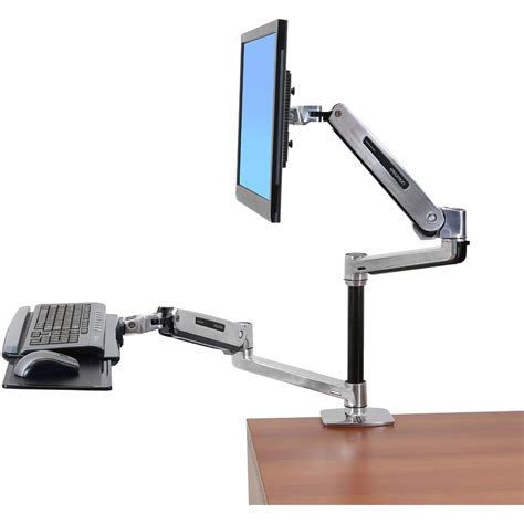 Ergotron Lx Desk Mount Monitor Arm by Lx Sit Stand Desk Monitor Arm Ergotron 45 360 026