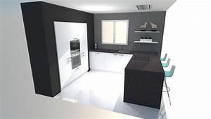 Colonne de cuisine pour four et micro onde 2 cuisine for Colonne de cuisine pour four et micro onde