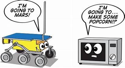Sojourner Mars Nasa Rover Cartoon Space Rovers