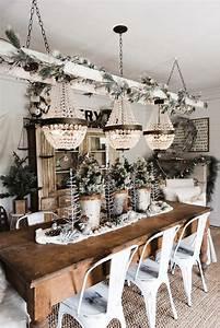 Farmhouse, Christmas, Cabinet, U0026, Rustic, Santa