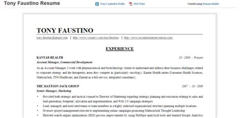 How To Resume From Linkedin by Resume Format With Linkedin Url Resume Template